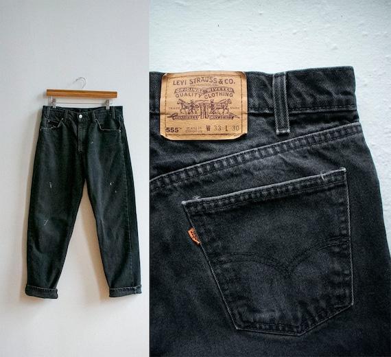 Vintage Levis Jeans 33x30 / Vintage Black Levis Je