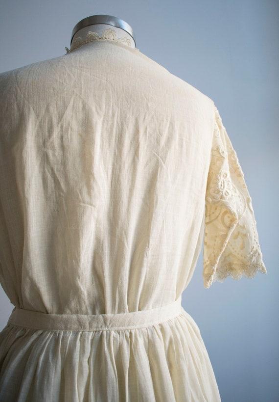 Antique 2pc Outfit / Edwardian Lawn Outfit / Embr… - image 7
