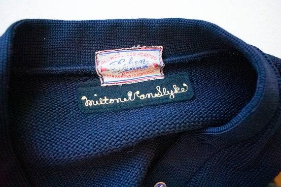 Vintage 1950s Varsity Sweater / Vintage Letterman… - image 9