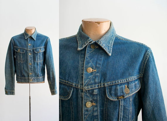 Vintage Denim Jacket / Vintage Lee Denim Jacket /