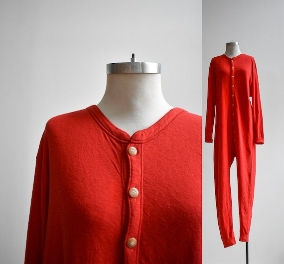 Vintage Red Duofold Long Underwear