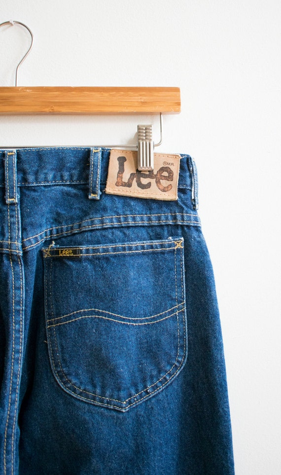 Vintage Lee Jeans / Dark Denim Lee Jeans / Vintag… - image 6