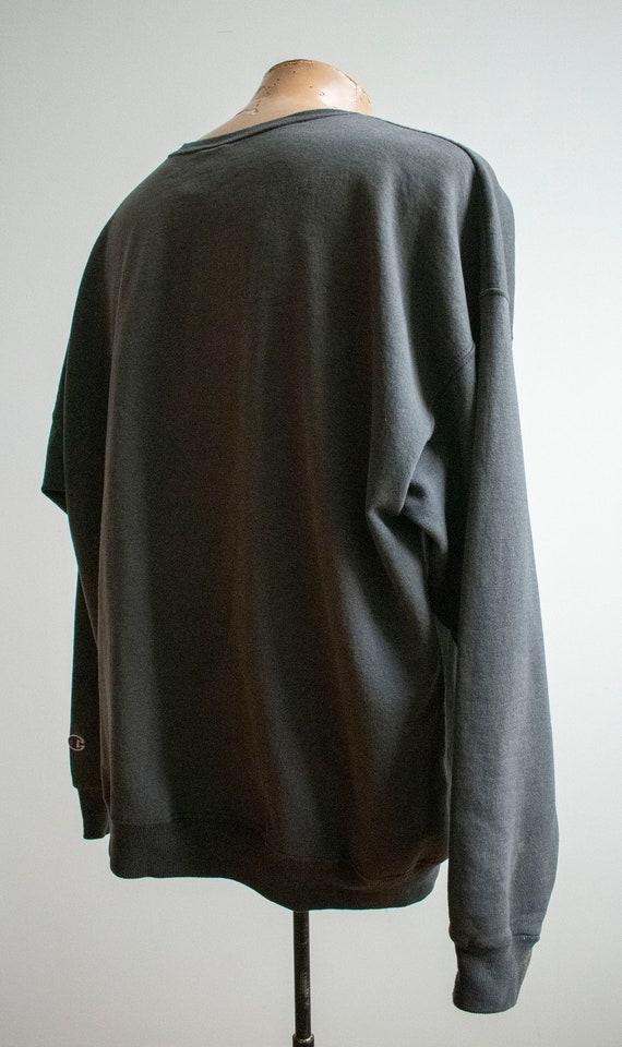 Vintage 1980s Champion Pullover / Vintage Crewnec… - image 7