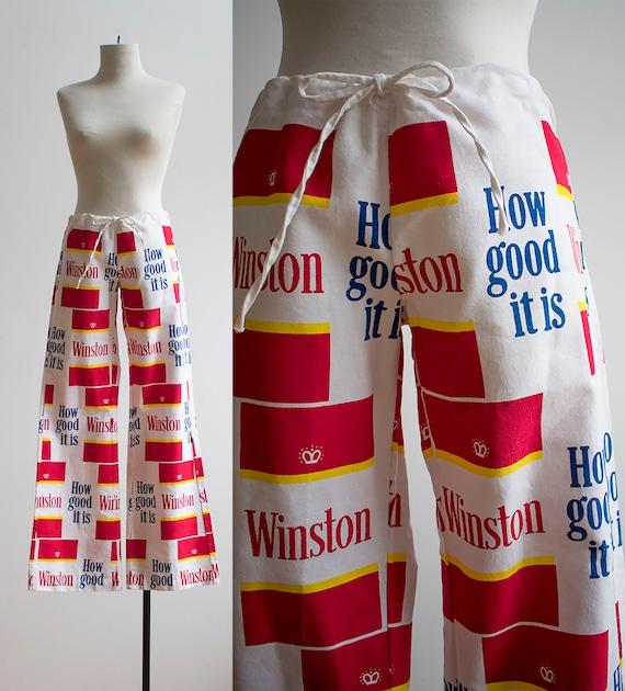 Vintage 1960s Winston Salem Cigarette Pants / Vint