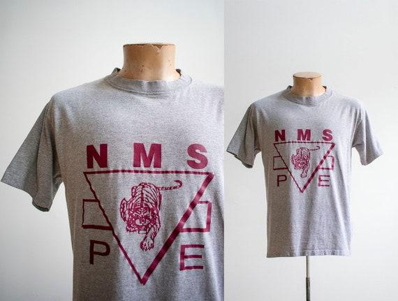 Vintage 1980s Gym Tshirt / Vintage 1980s Tee / Vin
