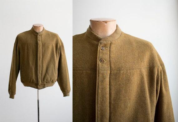 Vintage Woolrich Jacket / Vintage Zip Up Woolrich