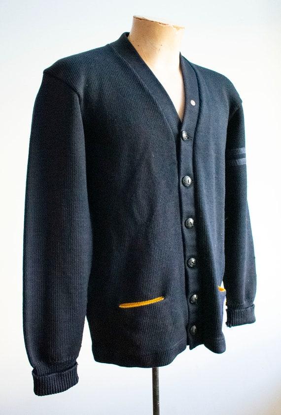 Vintage 1950s Varsity Sweater / Vintage Letterman… - image 5