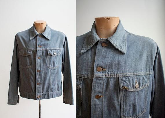 Vintage Sears Roebucks Denim Jacket / Vintage Jean