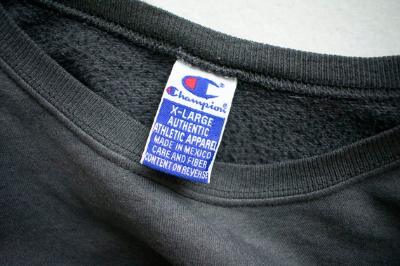 Vintage 1980s Champion Pullover / Vintage Crewnec… - image 10