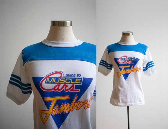 Vintage 1970s Muscle Cars Tshirt / Vintage Muscle