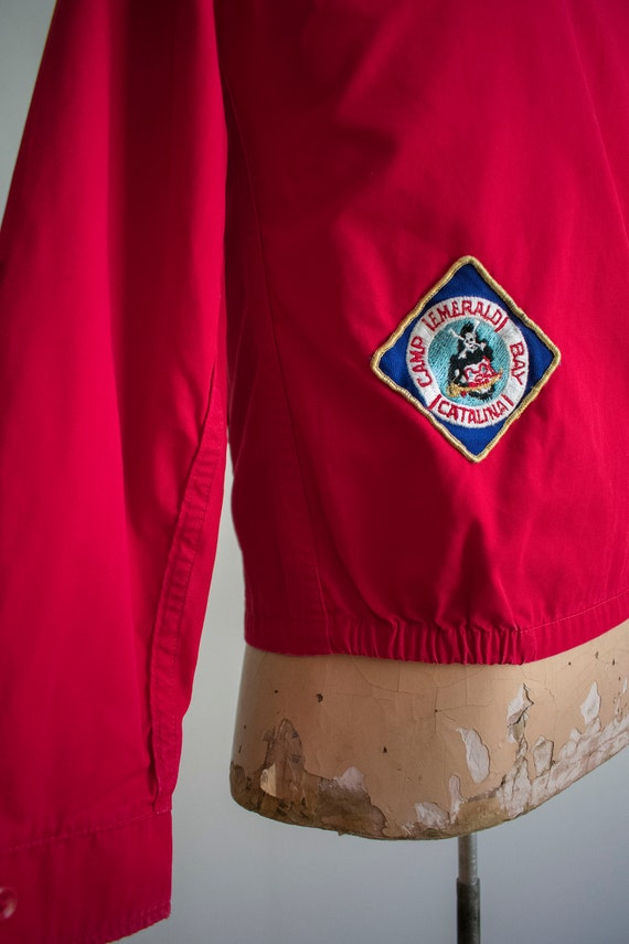 1950s Boy Scouts of America Jacket / Red Boy Scou… - image 6