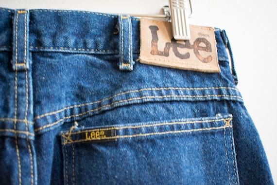 Vintage Lee Jeans / Dark Denim Lee Jeans / Vintag… - image 5