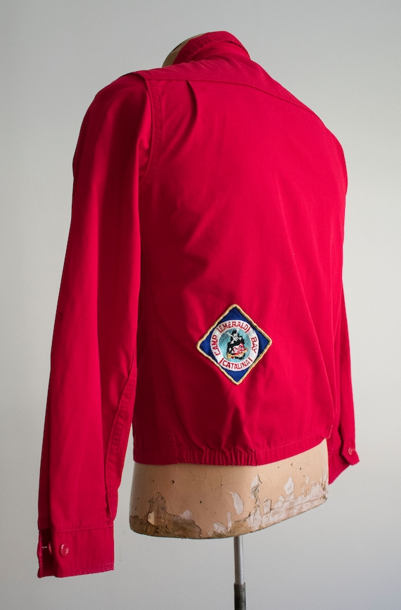 1950s Boy Scouts of America Jacket / Red Boy Scou… - image 7