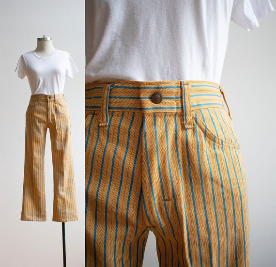 1960s Bell Bottoms / Vintage Trousers / Vintage 19