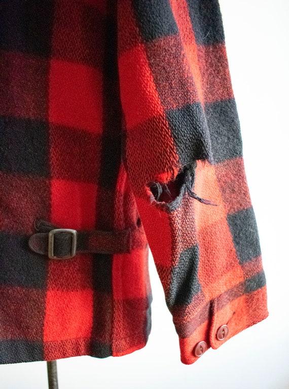 Vintage 1940s Woolrich Jacket / Vintage Wool Buff… - image 9