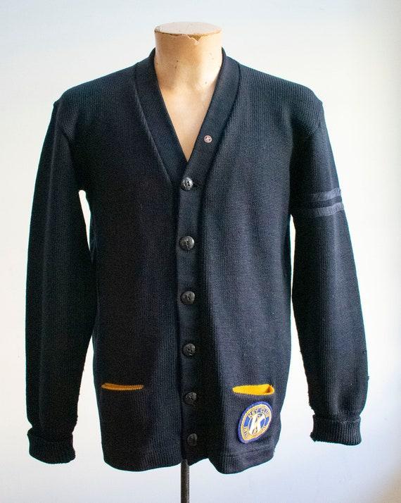 Vintage 1950s Varsity Sweater / Vintage Letterman… - image 2