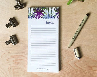 Cute Notepad, To Do List Notepad, housewarming, notepad gift, desk accessory, office supply, stationery, letter writing, notes, teacher gift