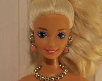 """Handmade doll jewelry necklace earrings fits Barbie doll and 11.5/"""" dolls 874A"""