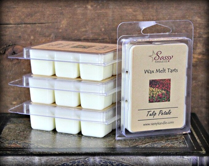 TULIP PETALS | Wax Melt Tart | Sassy Kandle Co.
