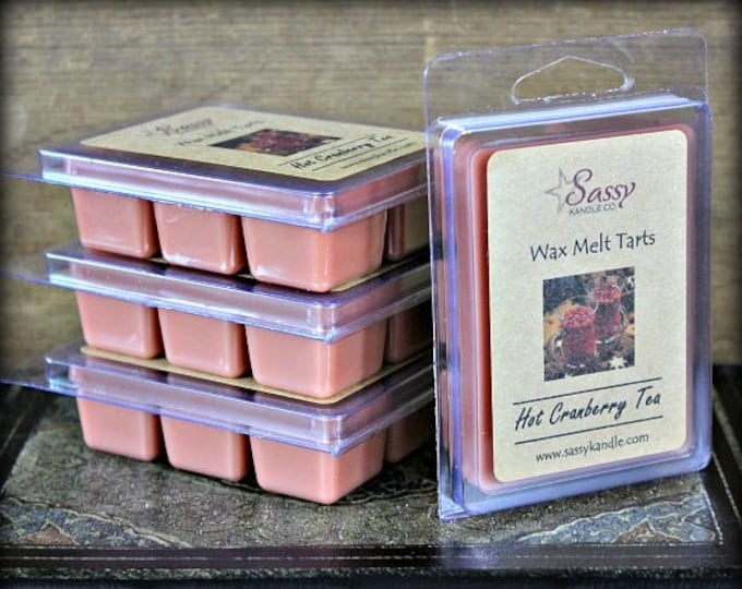 HOT CRANBERRY TEA | Wax Melt Tart | Sassy Kandle Co.