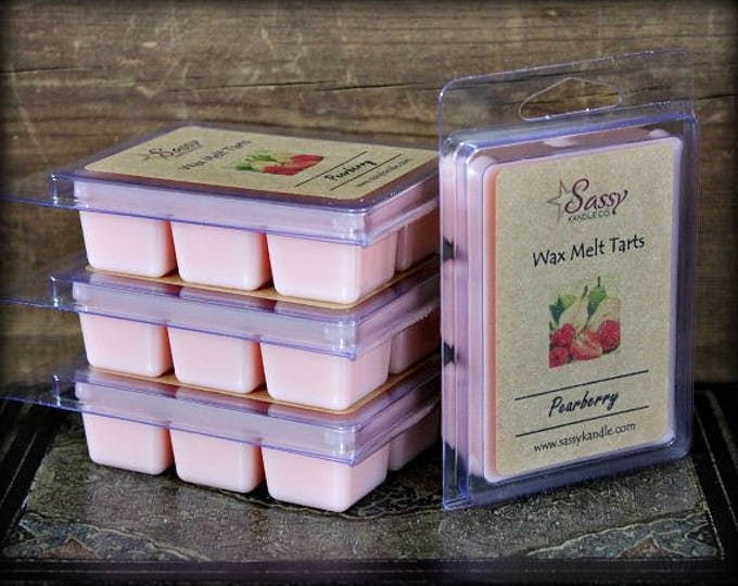 PEARBERRY | Wax Melt Tart |  Phthalate Free | Sassy Kandle Co.