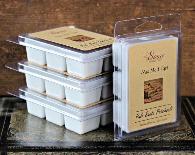 PALO SANTO PATCHOULI | Wax Melt Tart | Wax Tart | Wax Melt | Phthalate Free | Soy Blend | Sassy Kandle Co.