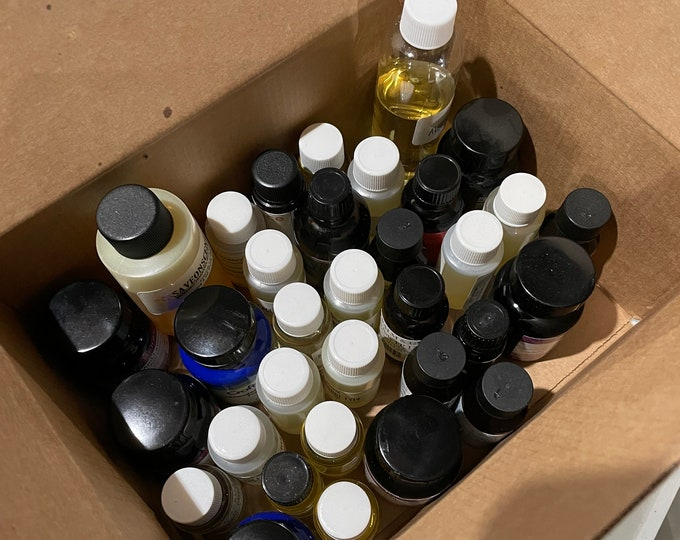 BOX E | Fruity 1 | Assorted fragrance oils de-stash