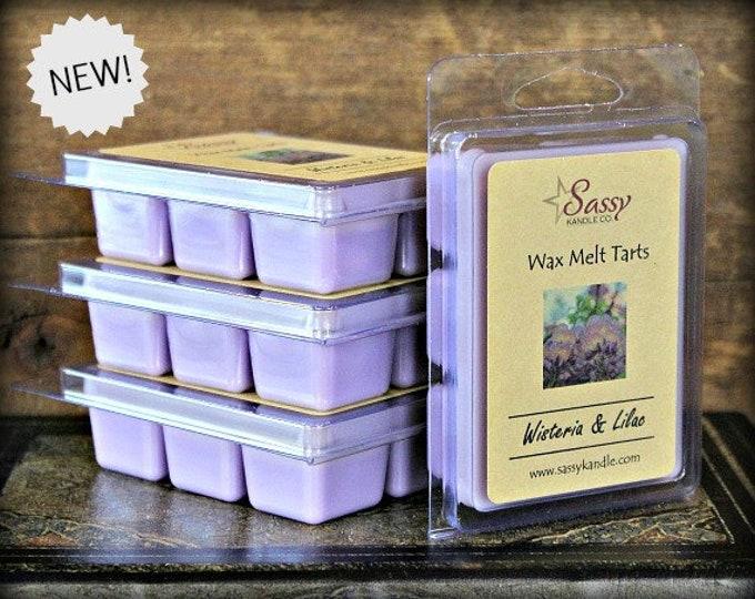 WISTERIA & LILAC | Wax Melt Tart | Sassy Kandle Co.