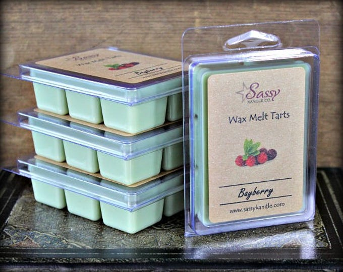 BAYBERRY| Wax Melt Tart | Wax Tart | Wax Melt | Phthalate Free | Soy Blend | Sassy Kandle Co.