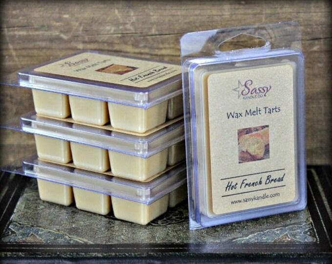 HOT FRENCH BREAD | Wax Melt Tart | Wax Tart | Wax Melt | Phthalate Free | Soy Blend | Sassy Kandle Co.
