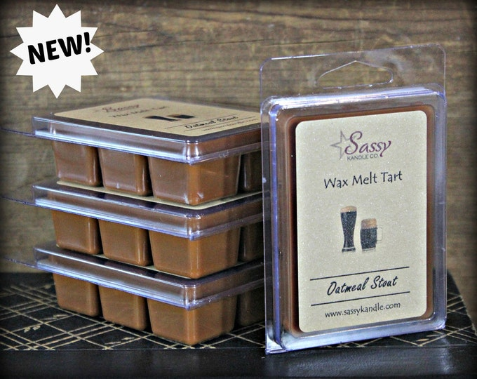 OATMEAL STOUT | Wax Melt Tart | Wax Tart | Wax Melt | Phthalate Free | Soy Blend | Sassy Kandle Co.