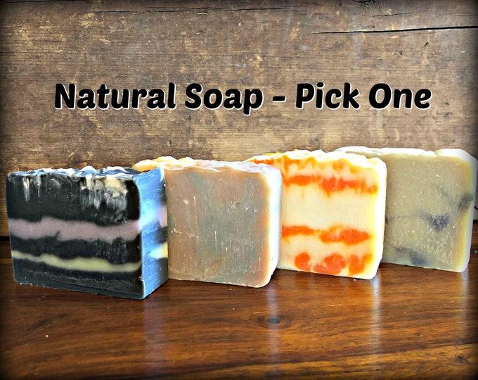 HANDMADE NATURAL SOAP | Pick One | Body Soap | Natural Soap | Outlander | Sassy Kandle Co.