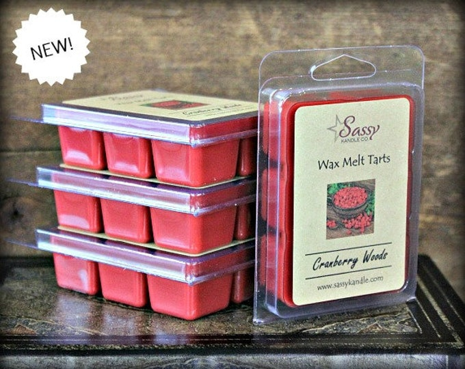 CRANBERRY WOODS | Wax Melt Tart | Sassy Kandle Co.