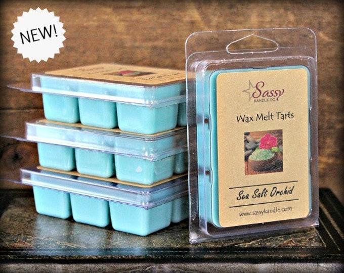 SEA SALT ORCHID | Wax Melt Tart | Sassy Kandle Co.