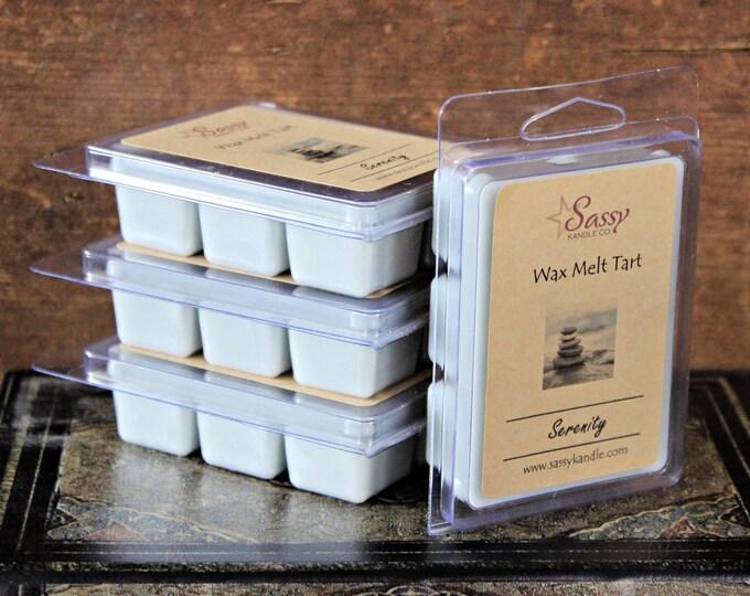 SERENITY| Wax Melt Tart | Wax Tart | Wax Melt | Phthalate Free | Soy Blend | Sassy Kandle Co.