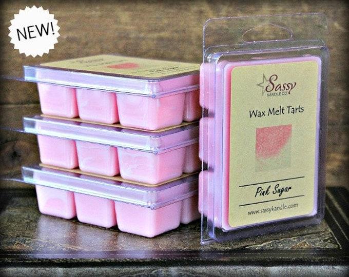 PINK SUGAR | Wax Melt Tart | Sassy Kandle Co.