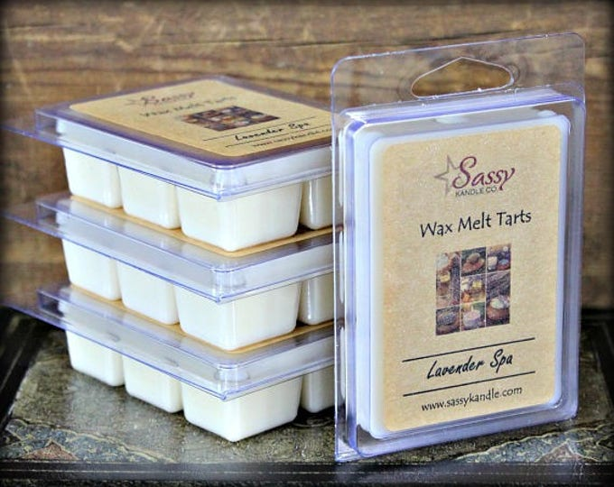 LAVENDER SPA | Wax Melt Tart | Sassy Kandle Co.