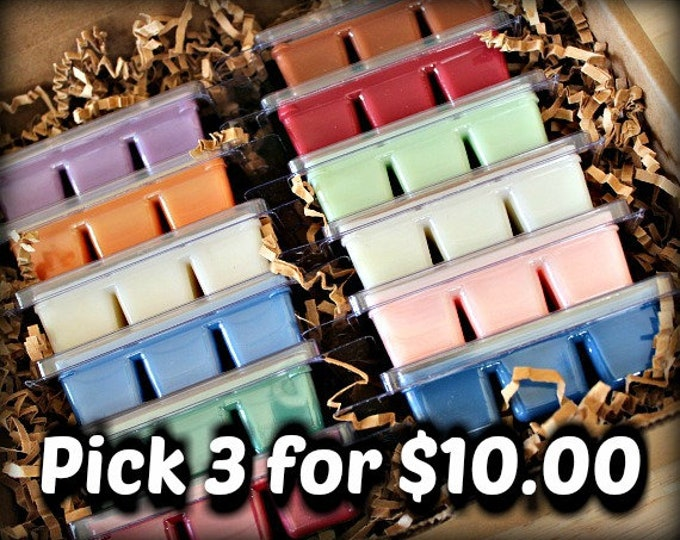 PICK 3 || Wax Melt Tarts || Sassy Kandle Co.