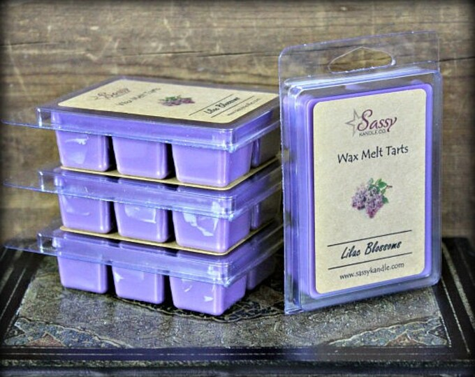 LILAC BLOSSOMS | Wax Melt Tart | Sassy Kandle Co.