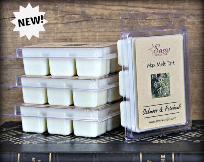 OAKMOSS & PATCHOULI | Wax Melt Tart | Phthalate Free | Sassy Kandle Co.