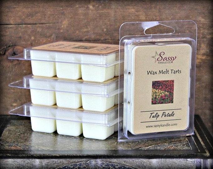 TULIP PETALS | Wax Melt Tart | Wax Tart | Wax Melt | Phthalate Free | Soy Blend | Sassy Kandle Co.