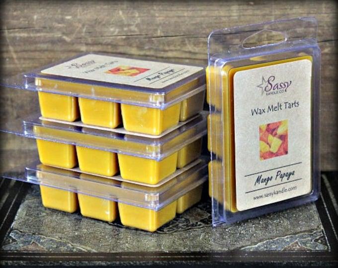 MANGO PAPAYA | Wax Melt Tart | Sassy Kandle Co.