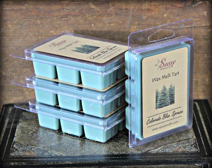 COLORADO BLUE SPRUCE | Wax Melt Tart | Wax Tart | Wax Melt | Phthalate Free | Soy Blend | Sassy Kandle Co.