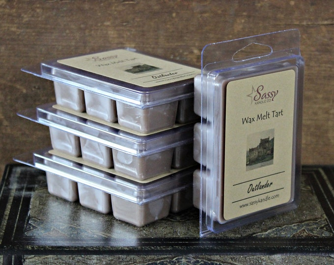 OUTLANDER | Wax Melt Tart | Wax Tart | Wax Melt | Phthalate Free | Soy Blend | Sassy Kandle Co.