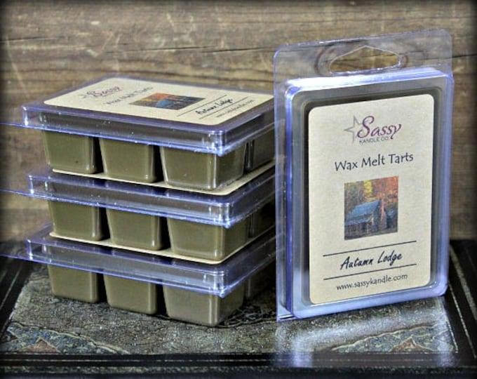 AUTUMN LODGE (Yankee Candle Type) | Wax Melt Tart | Wax Tart | Wax Melt | Phthalate Free | Soy Blend | Sassy Kandle Co.