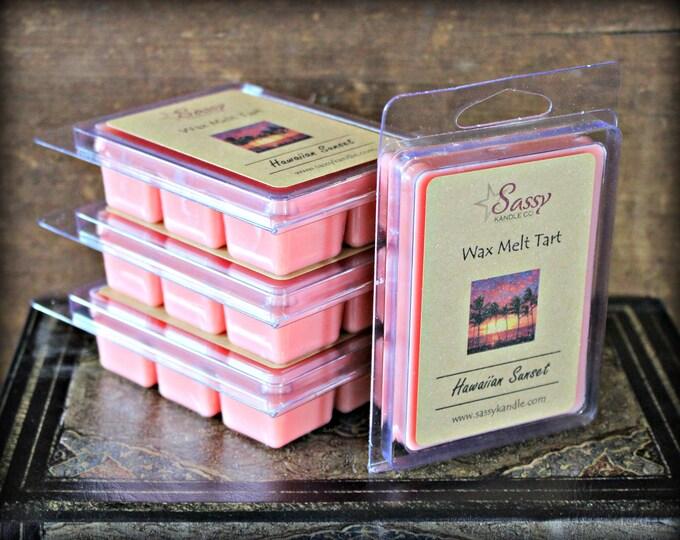 HAWAIIAN SUNSET | Wax Melt Tart | Wax Tart | Wax Melt | Pthalate Free | Soy Blend | Sassy Kandle Co.