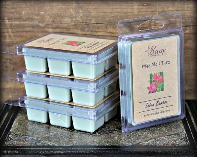 LOTUS BAMBOO | Wax Melt Tart | Wax Tart | Wax Melt | Phthalate Free | Soy Blend | Sassy Kandle Co.