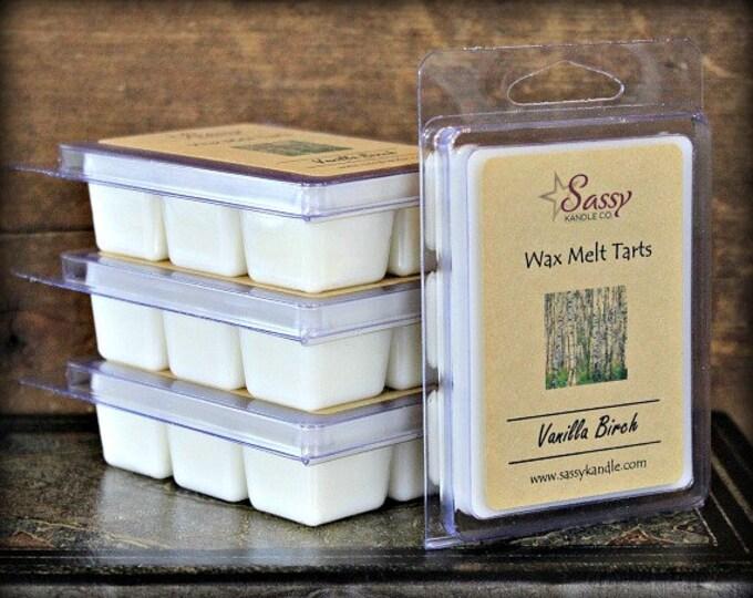 VANILLA BIRCH | Wax Melt Tart | Wax Tart | Wax Melt | Phthalate Free | Soy Blend | Sassy Kandle Co.