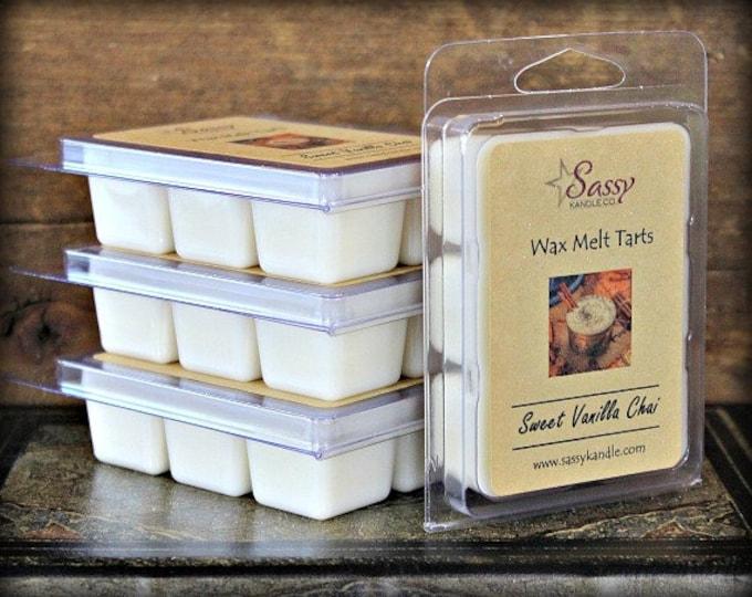 SWEET VANILLA CHAI | Wax Melt Tart | Wax Tart | Wax Melt | Phthalate Free | Soy Blend | Sassy Kandle Co.
