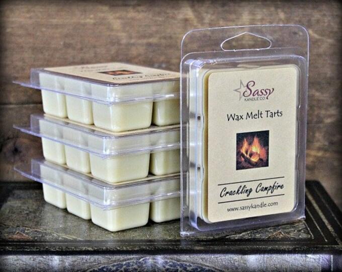 CRACKLING CAMPFIRE | Wax Melt Tart | Wax Tart | Wax Melt | Soy Blend | Sassy Kandle Co.